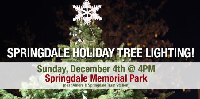 2016 Annual Holiday Tree Lighting Ceremony